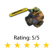 3-Way Brass Ball Valve Series 231