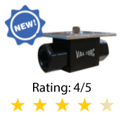 High-Pressure 2-Way Ball Valve Series 455