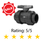 True Union PVC Ball Valve Series 340